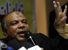 Mohammed Saad El-Katatni of the Muslim Brotherhood (photo: AP)