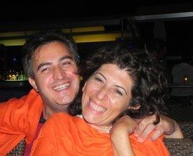 Özel Aydin and wife (photo: Semiran Kaya)