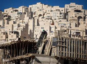 Settlement in East Jerusalem (photo: AP)