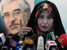 Zahra Rahnavard (Photo: AP)
