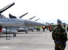 NATO fighter jets preparing for a mission to Libya (photo: dapd)