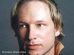 Norwegens Attentäter Anders Behring Breivik; Foto: AP Photo/Twitter, Anders Behring Breivik