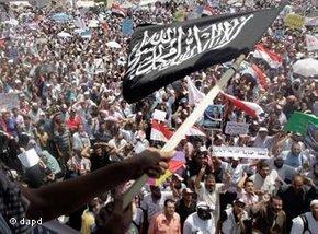 Salafist rally on Tahrir Square (photo: dapd)