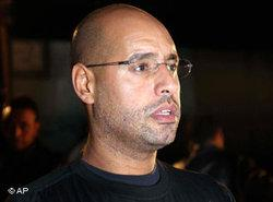 Saif al-Islam Gaddafi (photo: AP)