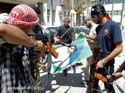 Armed rebels in Libya (photo: dpa)