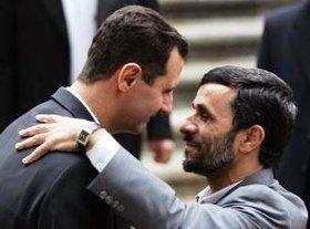 Al-Assad and Ahmadinejad (photo: AP)