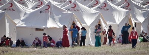 Syrian refugees in Turkey (photo: AP)
