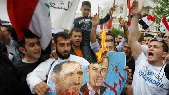 Demonstration against Assad (photo: AP)