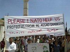 Demonstration against Assad (photo: dapd)