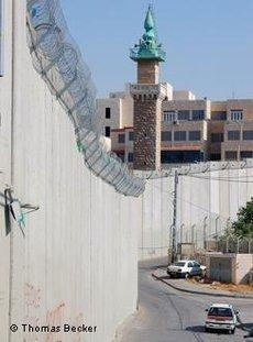 The Dividing Wall in Jerusalem (Photo:©Thomas Becker/DW)