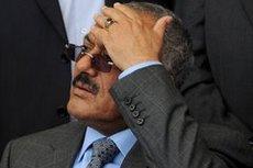 Yemen's President Saleh (photo: AP)