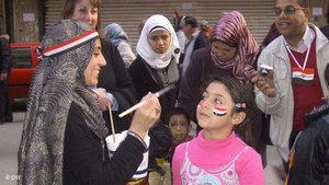 On Tahrir Square (photo: DW)