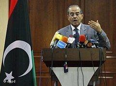 Libyan Prime Minister Jibril (photo: dapd)