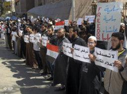 Salafis in Cairo (photo: AP)