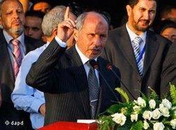 Mustafa Abdul Jalil, Chef des Übergangsrates, Foto: dapd