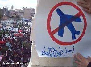 No fly zone placard (photo: dapd)