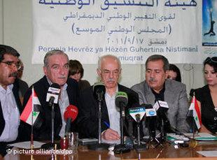 Meeting of the Syrian National Council in Damascus (photo: picture-alliance/dpa)