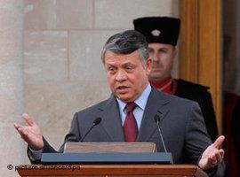 King Abdullah II of Jordan (photo: dpa)