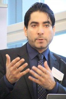 Mouhanad Khorchide at the kick-off event for the post-graduate programme (photo: Christoph Dreyer)