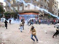 Violent protests in Egypt (photo: dapd)