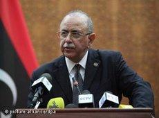Abdurrahim al-Keib, Libya's interim prime minister (photo: picture alliance/dpa)