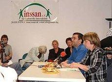 A meeting of the Inssan association in Berlin (photo: Inssan)
