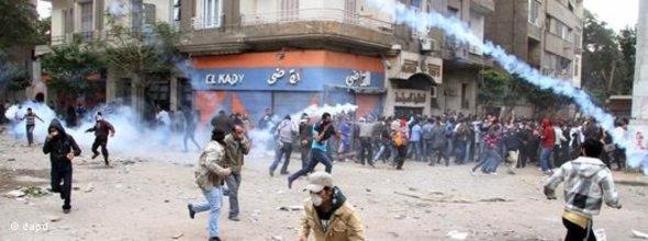 Protests against the military council in Egypt (photo: dapd)