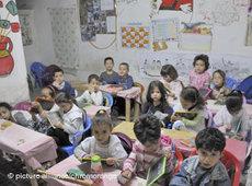 A class of schoolchildren in Fez, Morocco (photo: picture alliance)