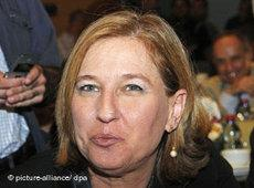 Tzipi Livni (photo: picture alliance/dpa)