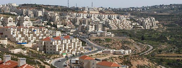General view of the Jewish settlement of Beitar Illit, near Jerusalem (photo: AP)