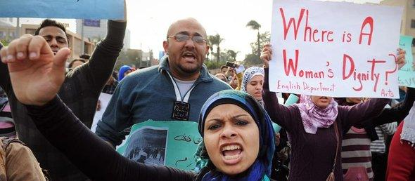 Protests in Cairo (photo: dapd/AP)