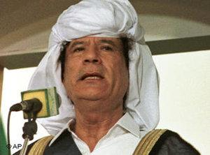 Muamar Qaddafi (photo: AP)