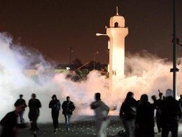 Protests in Sitra (photo: dpa)