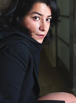Marjane Satrapi (photo: AP)