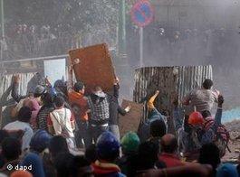 Violent clashes on Tahrir Square (photo: dapd)