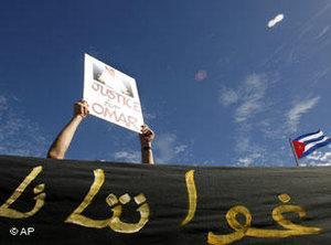 Anti-Guantanamo protest 2007 (photo: AP)