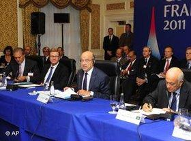 Treffen der Deauville-Partnerschaft; Foto: AP