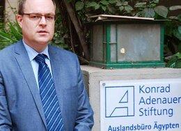 Andreas Jacobs, Leiter des Kairoer Büros der Konrad-Adenauer-Stiftung, Foto: dpa