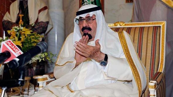 King Abdullah in Riyadh (photo: Reuters)