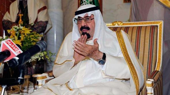 King Abdullah in Riyadh (photo: Reuters)