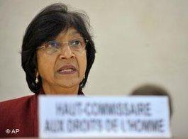 UN High Commissioner for Human Rights Navi Pillay (photo: AP)