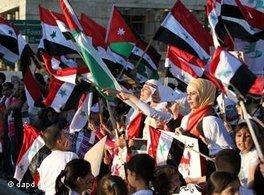 Protest against the Assad Regime (photo: AP/dapd)