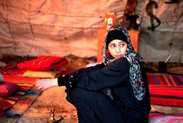 Nadia (Maysa Abed Alhadi) - scene from