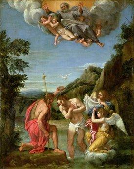 BIld der Trinität von Francesco Alban; Foto: Wikipedia/CC