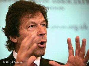 Imran Khan (photo: Abdul Sabooh / DW)