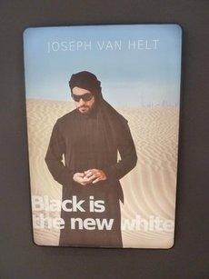 Fictitious 'Black is the new white' advertisement by Nadia Kaabi-Linke (photo: Werner Bloch)
