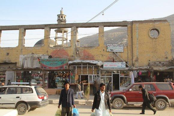 Kabul bazaar (photo: Marian Brehmer)
