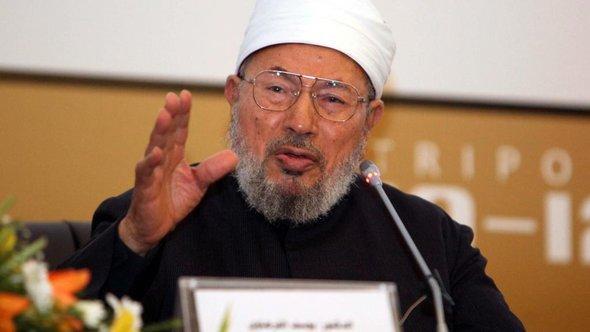 Sheikh Yusuf al-Qaradawi (photo: EPA/SABRI ELMHEDWI)