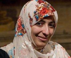 2011 Nobel Peace Prize laureate Tawakkul Karman of Yemen (photo: Andrew Medichini/AP/dapd)