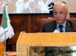 Der algerische Außenminister Mourad Medelci; Foto: dpa